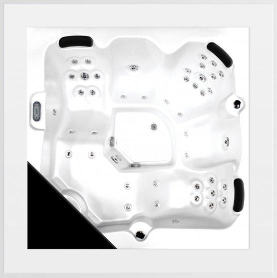 Aussenwhirlpool - AquaVia Spa Cube Ergo - Klicken Sie auf das Bild um die Galerie zu öffnen