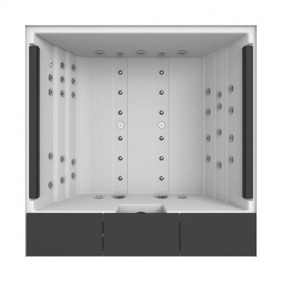 Aussenwhirlpool - AquaVia Spa Origami - Klicken Sie auf das Bild um die Galerie zu öffnen
