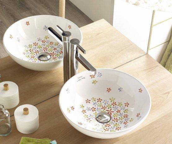 Aufsatzwaschbecken - Bathco Camomila - Klicken Sie auf das Bild um die Galerie zu öffnen