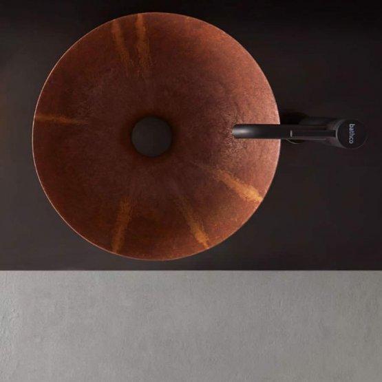 Aufsatzwaschbecken - Bathco Corten - Klicken Sie auf das Bild um die Galerie zu öffnen