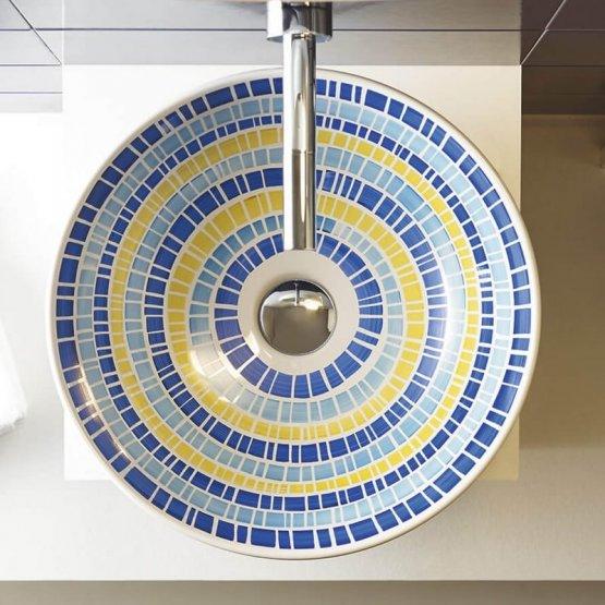 Aufsatzwaschbecken - Bathco Lluvia II - Klicken Sie auf das Bild um die Galerie zu öffnen