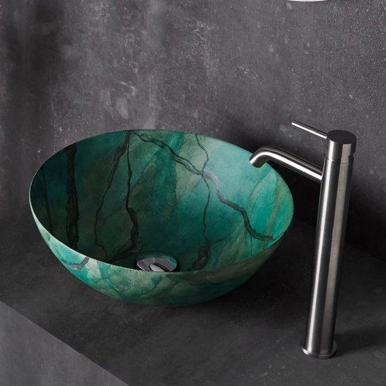 Aufsatzwaschbecken - Bathco Macael - Klicken Sie auf das Bild um die Galerie zu öffnen