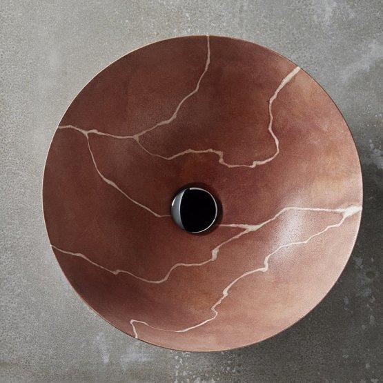 Aufsatzwaschbecken - Bathco Magma - Klicken Sie auf das Bild um die Galerie zu öffnen