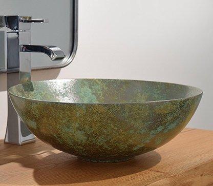 Aufsatzwaschbecken - Bathco Opalo - Klicken Sie auf das Bild um die Galerie zu öffnen