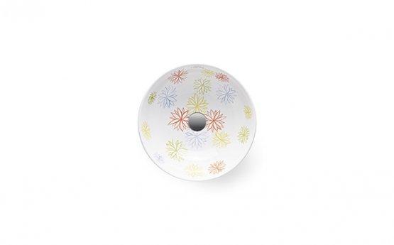 Aufsatzwaschbecken - Bathco Petalos - Klicken Sie auf das Bild um die Galerie zu öffnen