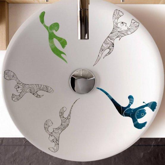 Aufsatzwaschbecken - Bathco Totem II - Klicken Sie auf das Bild um die Galerie zu öffnen