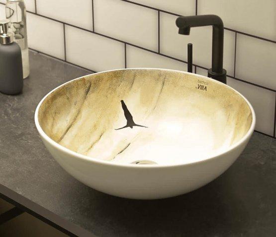 Aufsatzwaschbecken - Bathco Verloren I - Klicken Sie auf das Bild um die Galerie zu öffnen