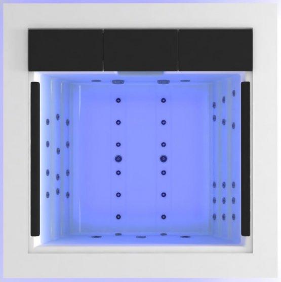 Aussenwhirlpool - AquaVia Spa Cube - Klicken Sie auf das Bild um die Galerie zu öffnen