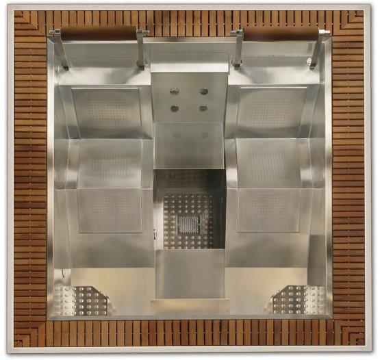 Aussenwhirlpool - AquaVia Spa Edelstahl-Spa Mercurio - Klicken Sie auf das Bild um die Galerie zu öffnen