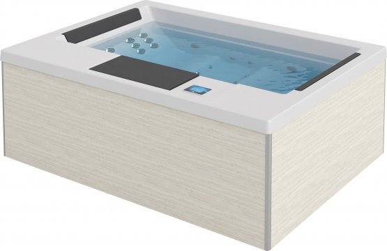 Aussenwhirlpool - AquaVia Spa Suite Spa - Klicken Sie auf das Bild um die Galerie zu öffnen