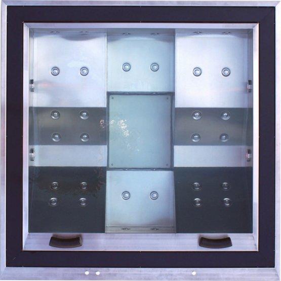 Aussenwhirlpool - AquaVia Spa Edelstahl-Spa Elegant - Klicken Sie auf das Bild um die Galerie zu öffnen