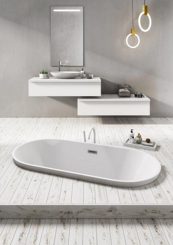 Badewanne - b10 Curve - Klicken Sie auf das Bild um die Galerie zu öffnen