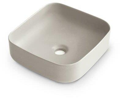 Aufsatzwaschbecken - Bathco Dinan 40 Cru - Klicken Sie auf das Bild um die Galerie zu öffnen