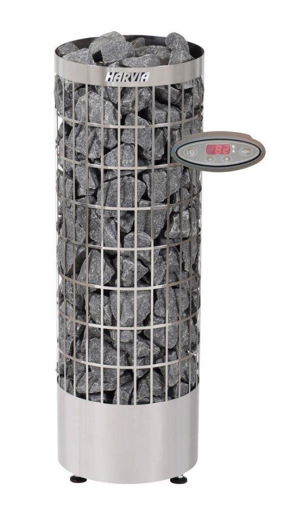Saunaofen - Harvia Cilindro PC70EE - Klicken Sie auf das Bild um die Galerie zu öffnen