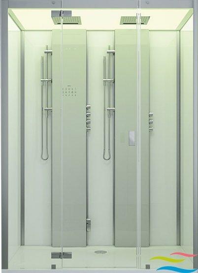 Dampfdusche - Hoesch SensePerience 2 - Klicken Sie auf das Bild um die Galerie zu öffnen