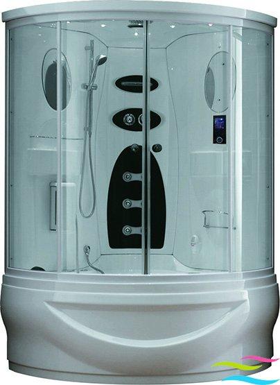 Dampfdusche mit Whirlpool - Wellgems L525 - Klicken Sie auf das Bild um die Galerie zu öffnen