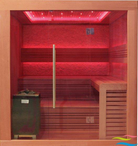 Sauna - AWT E1241 - Klicken Sie auf das Bild um die Galerie zu öffnen
