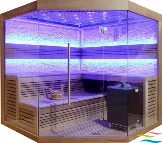 Sauna - AWT E1242 - Klicken Sie auf das Bild um die Galerie zu öffnen