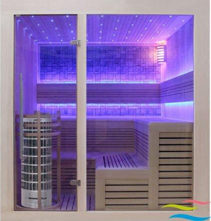 Sauna - AWT E1213 - Klicken Sie auf das Bild um die Galerie zu öffnen