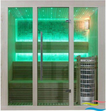 Sauna - AWT E1215 - Klicken Sie auf das Bild um die Galerie zu öffnen