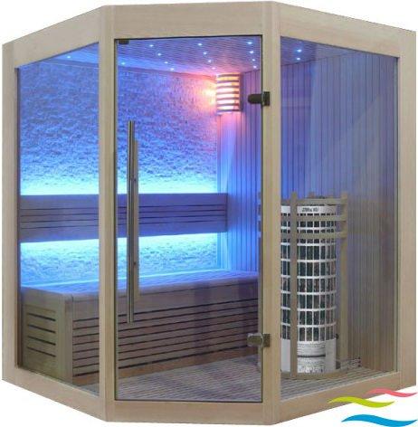 Sauna - AWT E1219 - Klicken Sie auf das Bild um die Galerie zu öffnen