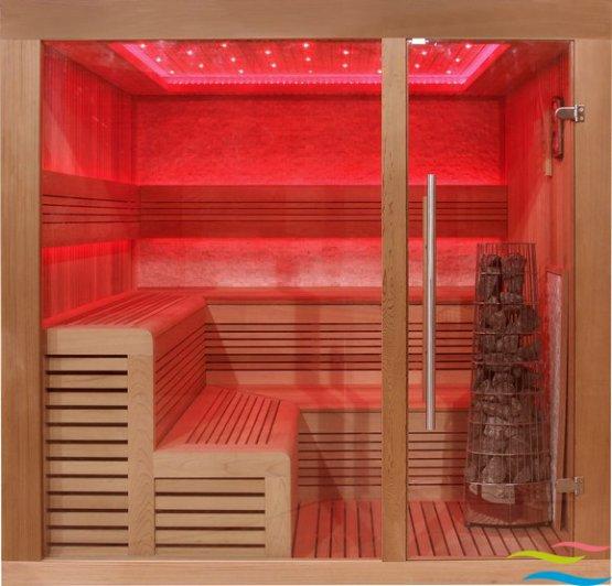 Sauna - AWT E1243 - Klicken Sie auf das Bild um die Galerie zu öffnen