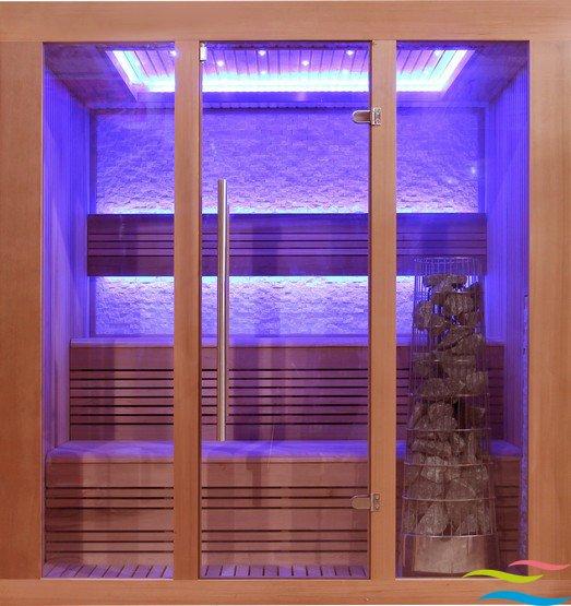 Sauna - AWT E1244 - Klicken Sie auf das Bild um die Galerie zu öffnen