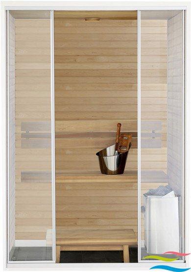 Sauna - Harvia Capella - Klicken Sie auf das Bild um die Galerie zu öffnen