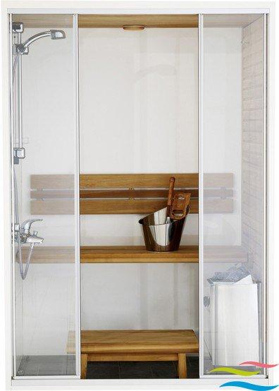 Sauna - Harvia Capella Dual - Klicken Sie auf das Bild um die Galerie zu öffnen