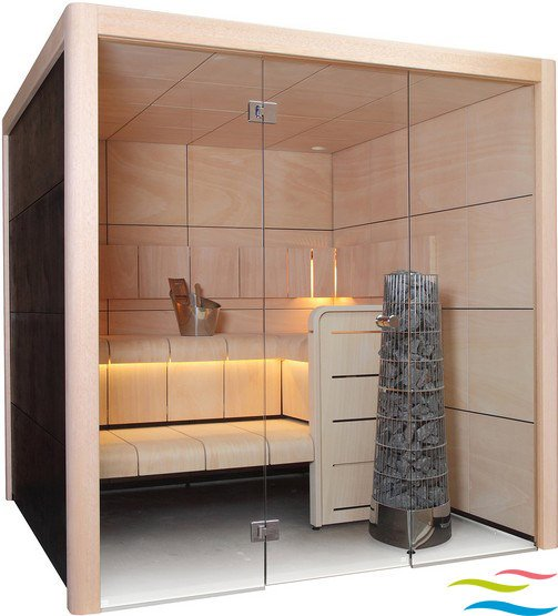 Sauna - Harvia Claro - Klicken Sie auf das Bild um die Galerie zu öffnen