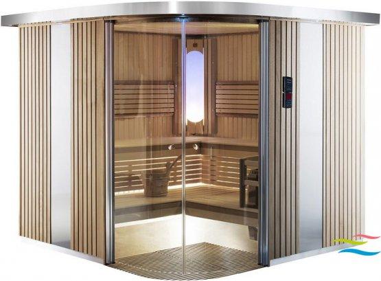 Sauna - Harvia Rondium - Klicken Sie auf das Bild um die Galerie zu öffnen