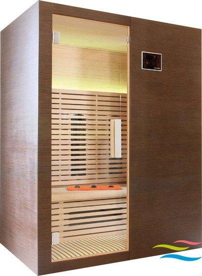 Infrarotkabine - Saunalux Sirius (B-Ware) - Klicken Sie auf das Bild um die Galerie zu öffnen