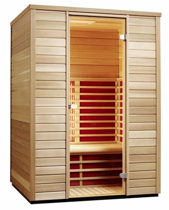 Infrarotkabine - Infraworld TrioSol Cedar 145 - Klicken Sie auf das Bild um die Galerie zu öffnen