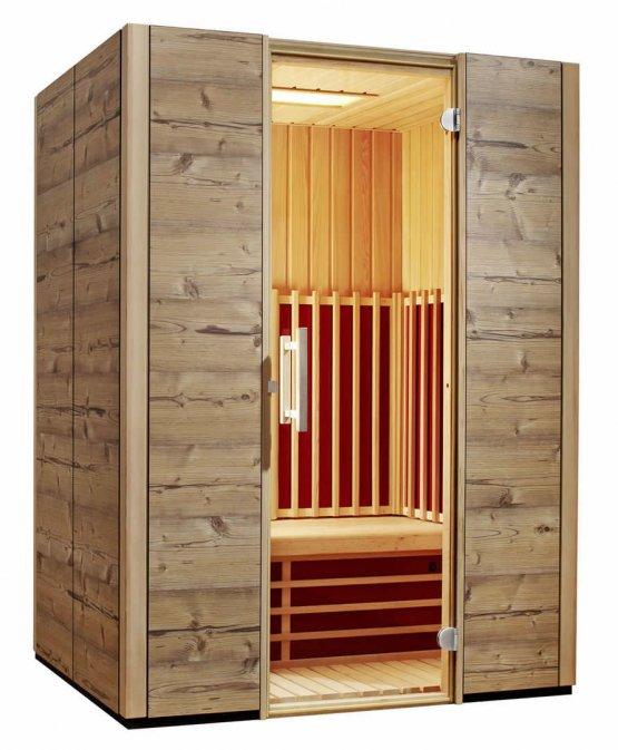 Infrarotkabine - Infraworld TrioSol Alpina 150 - Klicken Sie auf das Bild um die Galerie zu öffnen
