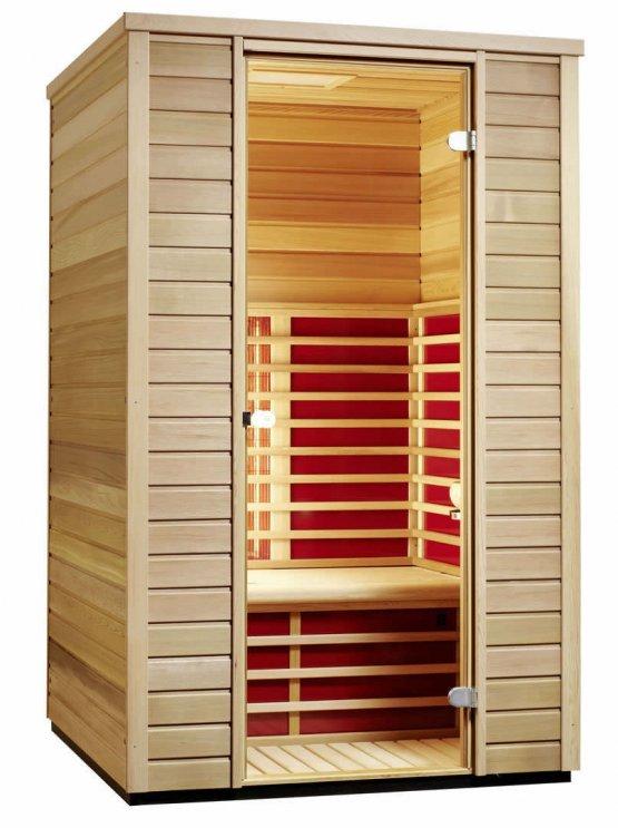 Infrarotkabine - Infraworld TrioSol Cedar 125 - Klicken Sie auf das Bild um die Galerie zu öffnen
