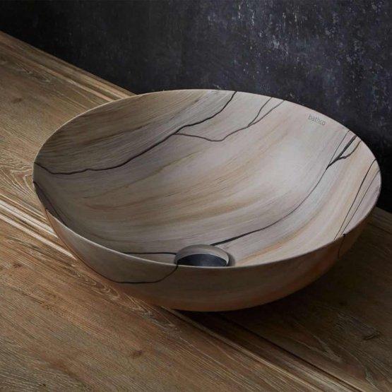 Aufsatzwaschbecken - Bathco Madera - Klicken Sie auf das Bild um die Galerie zu öffnen