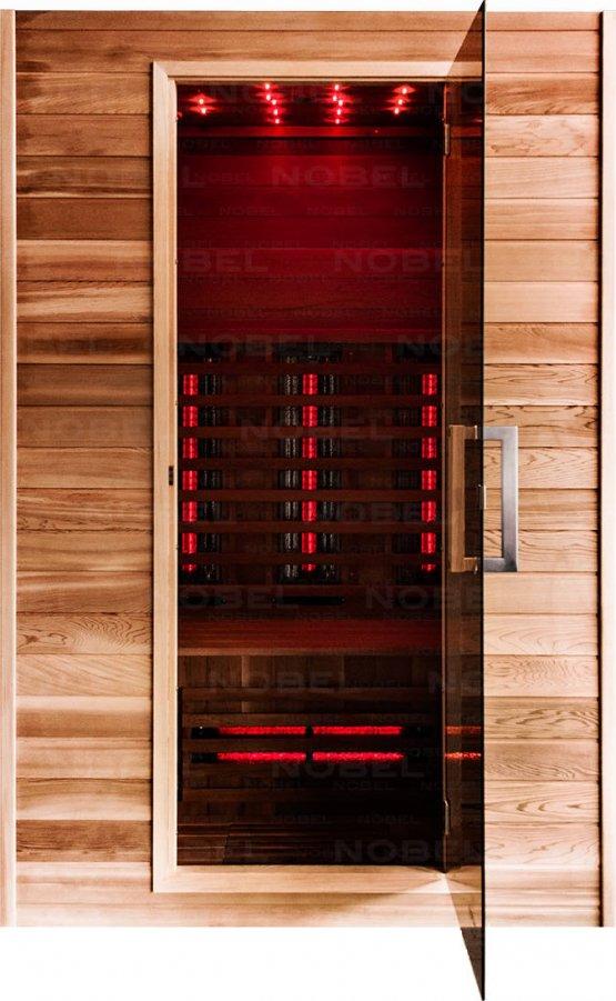 Infrarotkabine - Nobel Sauna 130 Zeder - Klicken Sie auf das Bild um die Galerie zu öffnen