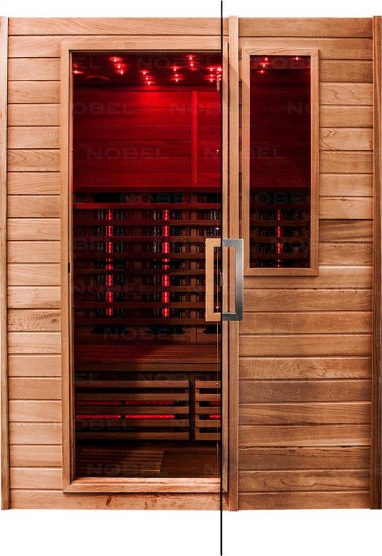Infrarotkabine - Nobel Sauna 150 Zeder - Klicken Sie auf das Bild um die Galerie zu öffnen