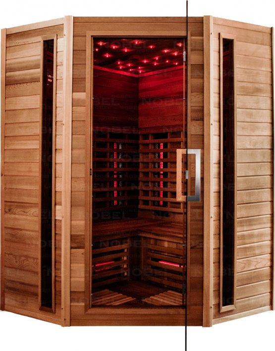 Infrarotkabine - Nobel Sauna 150C Zeder - Klicken Sie auf das Bild um die Galerie zu öffnen