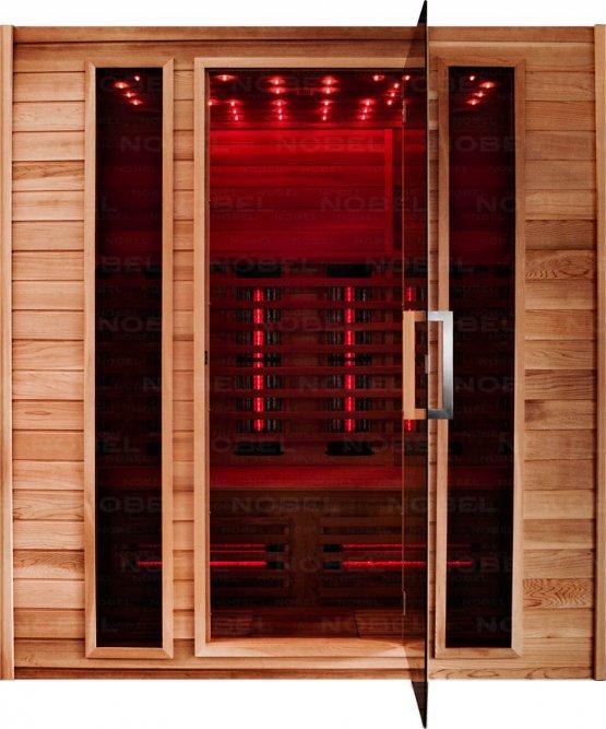 Infrarotkabine - Nobel Sauna 180 Zeder - Klicken Sie auf das Bild um die Galerie zu öffnen