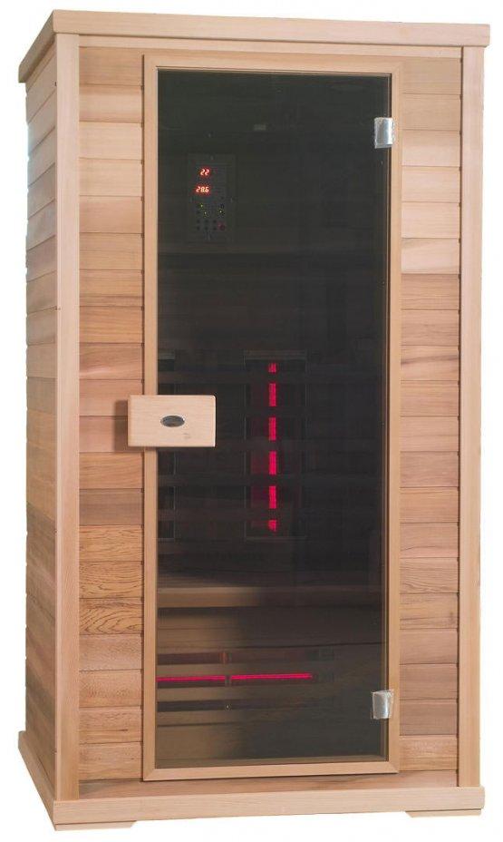Infrarotkabine - Nobel Sauna 110 Hemlock - Klicken Sie auf das Bild um die Galerie zu öffnen