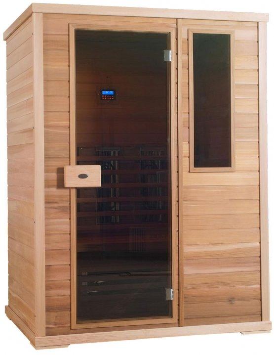 Infrarotkabine - Nobel Sauna 150 Hemlock - Klicken Sie auf das Bild um die Galerie zu öffnen