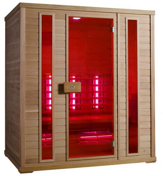 Infrarotkabine - Nobel Sauna 180 Hemlock - Klicken Sie auf das Bild um die Galerie zu öffnen