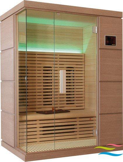 Infrarotkabine - Saunalux Novus - Klicken Sie auf das Bild um die Galerie zu öffnen