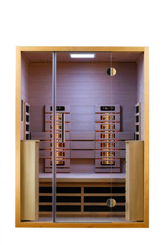 Infrarotkabine - Infraworld Vitalhome Sunlight 140 - Klicken Sie auf das Bild um die Galerie zu öffnen