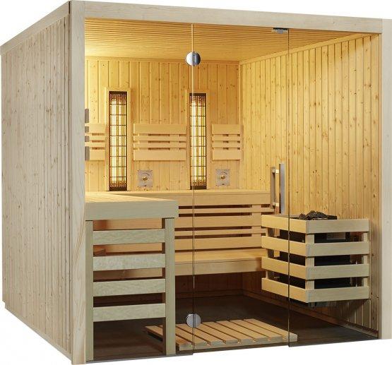 Sauna - Infraworld Panorama Complete - Klicken Sie auf das Bild um die Galerie zu öffnen