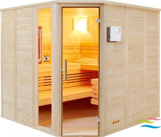 Sauna - Infraworld Urban Complete - Klicken Sie auf das Bild um die Galerie zu öffnen