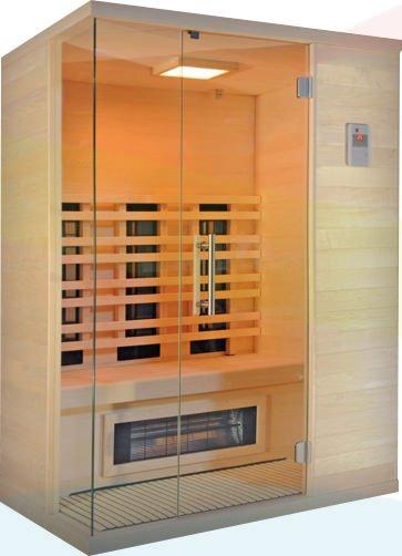 Infrarotkabine - Saunalux Classic de Luxe - Klicken Sie auf das Bild um die Galerie zu öffnen