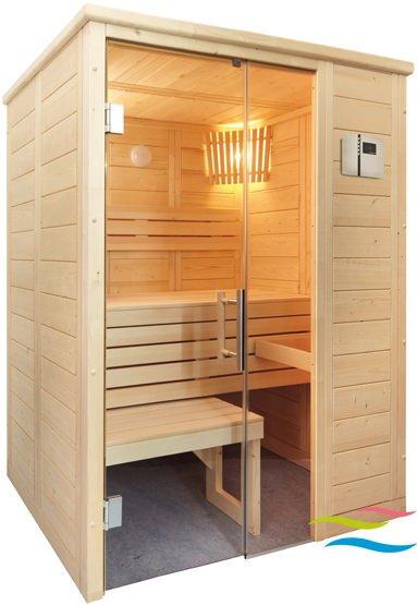 Sauna - Saunalux Finnia Premium Mini - Klicken Sie auf das Bild um die Galerie zu öffnen