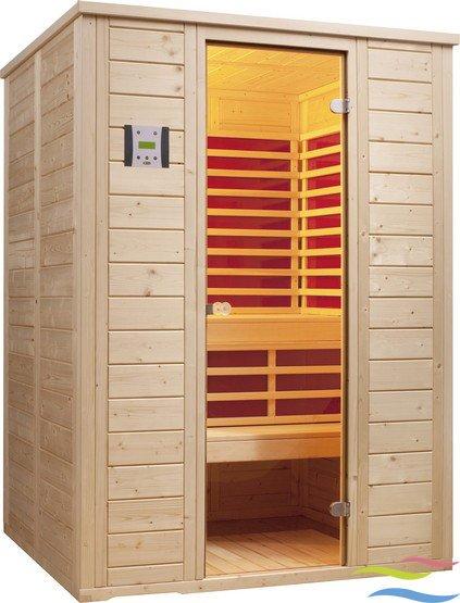 Sauna - Infraworld Vitalis 148 FH - Klicken Sie auf das Bild um die Galerie zu öffnen